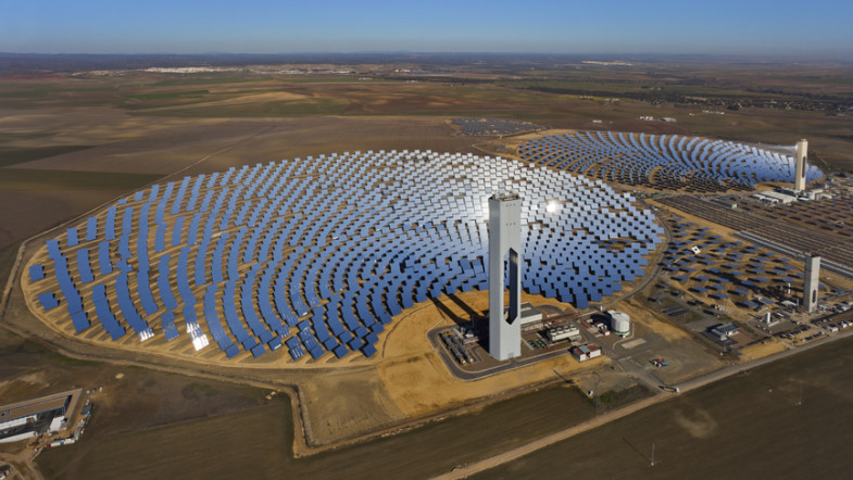Weltgrößtes Sonnenwärmekraftwerk