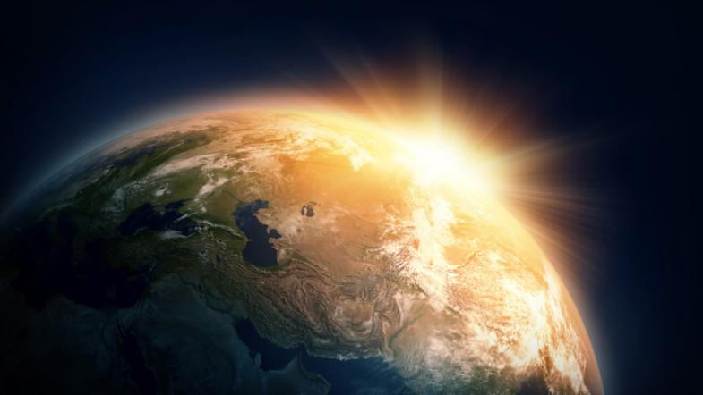 Strom aus Infrarotstrahlung der Erde