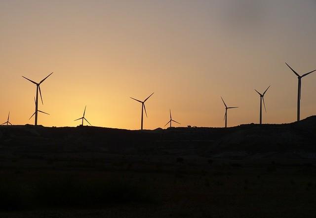 Weniger Warnleuchten für Windräder