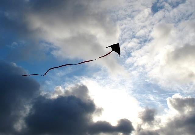 Strom durch Kites