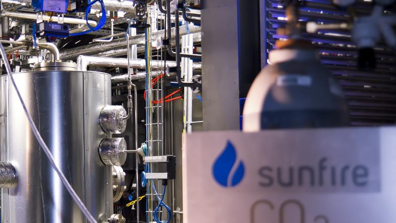 Weltpremiere: Sunfire präsentiert Power-to-Liquids
