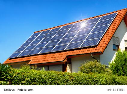 Mit einer Solaranlage der Umwelt helfen