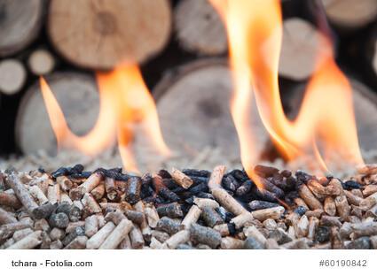 Heizen im Kamin: Holzpellets statt Brennholz
