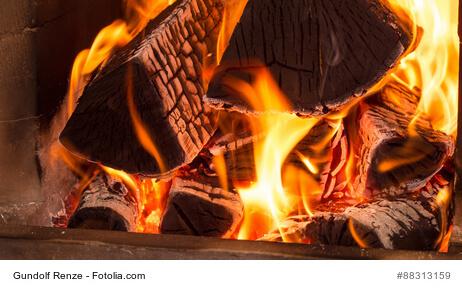 Im Winter gemütlich mit einem Kamin heizen